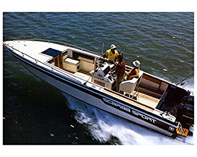 Amazon com: 1985 Wellcraft Scarab Sport Power Boat Factory