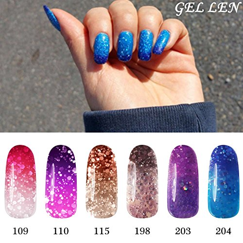 Gellen Color Changing gel Nail Polish