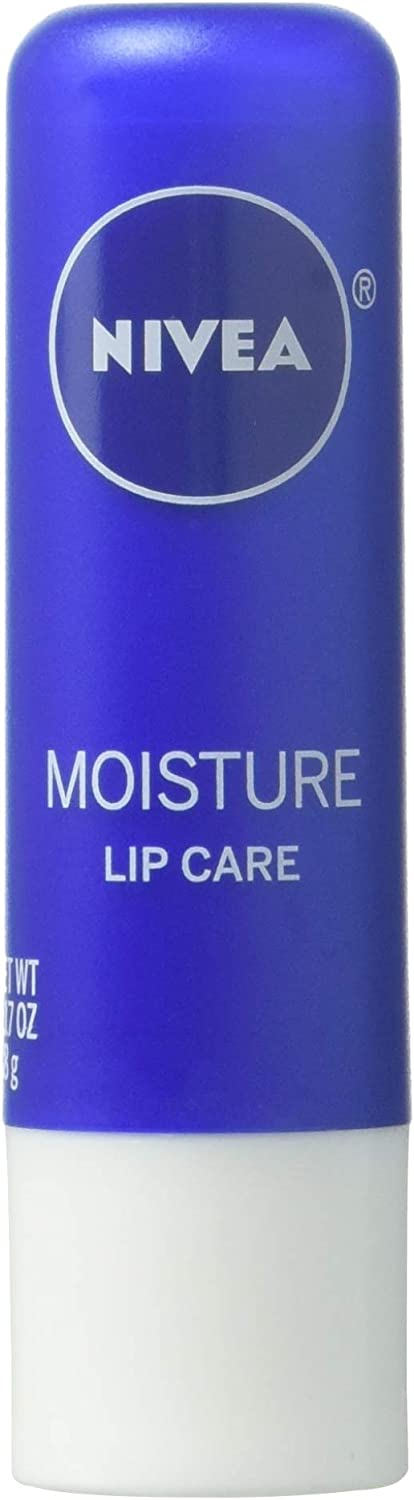 Nivea Moisture Lip care 0.17 OZ (pack of 3)
