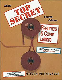 Top Secret Resumes and Cover Letters: Steven Provenzano
