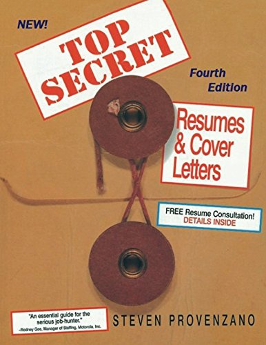 Top Secret Resumes and Cover Letters