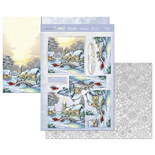 Hunkydory Snow is Falling- A Christmas Village 3-pc Topper Collection
