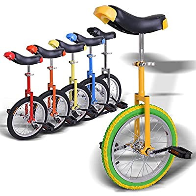 """AW 16"""" Inch Wheel Unicycle Leakproof Butyl Tire Wheel Cycling Outdoor Sports Fitness Exercise Health"""