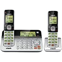 1 - DECT 6.0 Duplex Handset/Base Speakerphone, DECT 6.0 two-handset system, Expandable with Caller ID/Call Waiting/full duplex handset/base speakerphone CS6709, VTCS6859-2