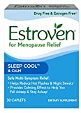 Cheap Estroven SLEEP COOLTM + CALM | Menopause Relief Dietary Supplement | Estrogen Free** | Helps Reduce Hot Flashes & Night Sweats* | | 30 Caplets