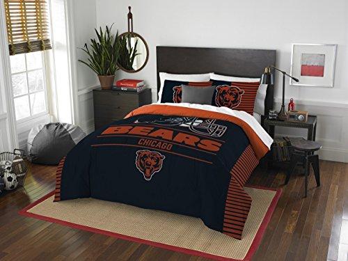 NFL Chicago Bears Draft Full/Queen Comforter and 2 Sham Set]()