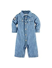 Ralph Lauren Baby Boys' Cotton Chambray Coverall