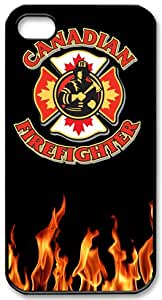 Fire Rescue Symbol Firefighter Case Cover for Iphone 4S/4