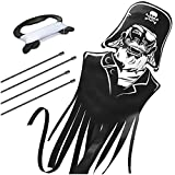 aGreatLife Pirate Kite for Kids: Best Beginner Kite, Easy Flyer for Your Child - Easily Floats in the Breeze - Made from Lightweight and Strong Materials - Perfect for Beach or Park Games