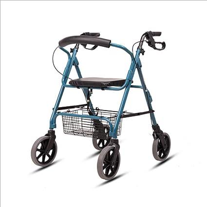 ADstore Andador para Ancianos Forta de 4 Ruedas Rollator Deluxe ...