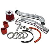 honda civic bumper red - Spec-D Tuning AFC-CV96LXRD-AY Honda Civic CX DX LX 1.6L L4 Cold Air Intake+Red Filter