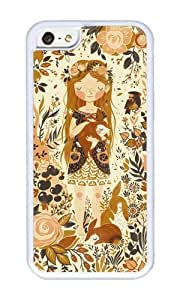 Apple Iphone 5C Case,WENJORS Cool The Queen of Pentacles Soft Case Protective Shell Cell Phone Cover For Apple Iphone 5C - TPU White