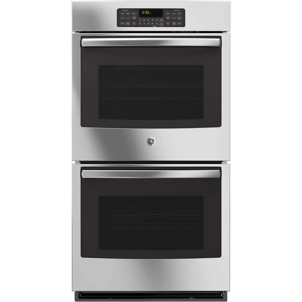 GE JK3500SFSS 27 Built-In Double Wall Oven with 8.6 cu. ft. Total Oven Capacity Self-Clean in Stainless Steel (Certified Refurbished)