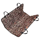 #2: Dog Seat Cover for Cars - Pet Bench Rear Protector with Non Slip Backing, Anchors and Belt Holes for Extra Safety for Suvs, Jeeps, Vans and All Auto Vehicles-Waterproof & Soft (Camo)