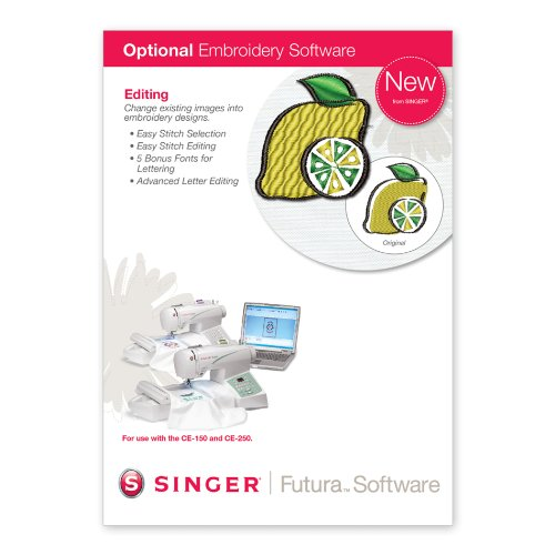 singer futura embroidery software - 9