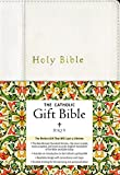 NRSV, The Catholic Gift Bible, Imitation Leather, White: The Perfect Gift That Will