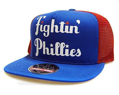 Philadelphia Phillies MLB Gatekeeper Cooperstown Mesh Adjustable Snapback Hat (Mlb Hats Vintage)