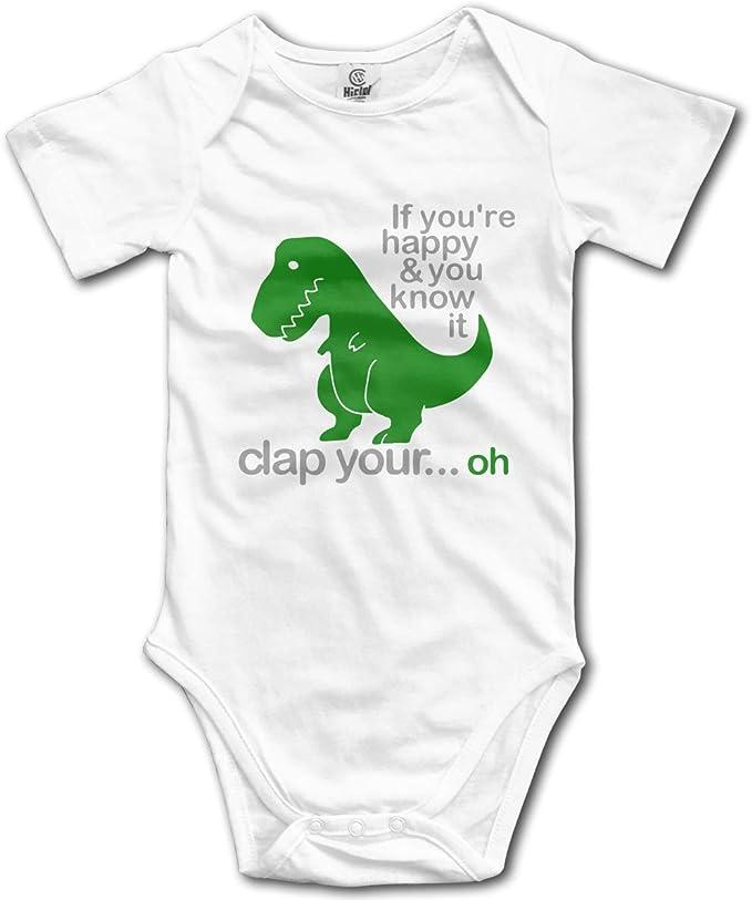 Amazon.com: Traje de bebé con diseño de dinosaurios de T Rex ...