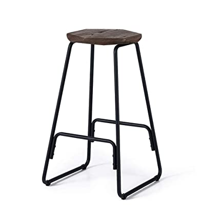 Tabouret De Bar Amazon.Amazon Com Hongyan Barstool Domaine Simple Tabouret En Fer