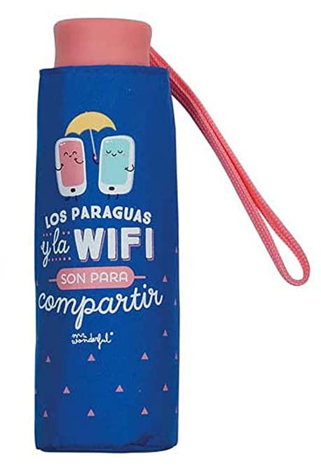 Paraguas plegable Mr. Wonderful Wifi