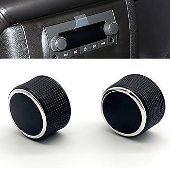 amazon dorman 76855 radio knob automotive Mazda 3 Stereo Replacement kerman 2 pc rear radio audio volume control knob dial tuner for 07 13 chevy tahoe chevrolet silverado gmc acadia sierra denali yukon gm 22912547 radio