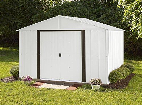 Garden and Outdoor Arrow Shed AR108 AR108-A Arlington 10 8-Feet Steel Storage Shed, 10′ x 8′ outdoor storage sheds