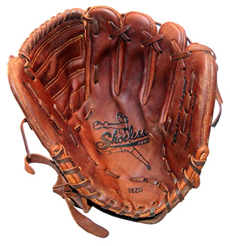 - Diamond Ready Baseball Gloves Shoeless Jane 11 1/4'' Fast Pitch Closed Web Glove (Left Hand Throw)
