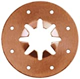 Sioux Chief Mfg 612-2PK2 1/2-Inch CTS Copper Star Locking Tube Nut, 5 Count by Sioux Chief Mfg