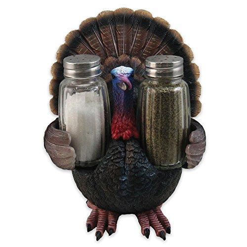 Feast for All Seasons Turkey Sculpture / Salt and Pepper Shaker Holder