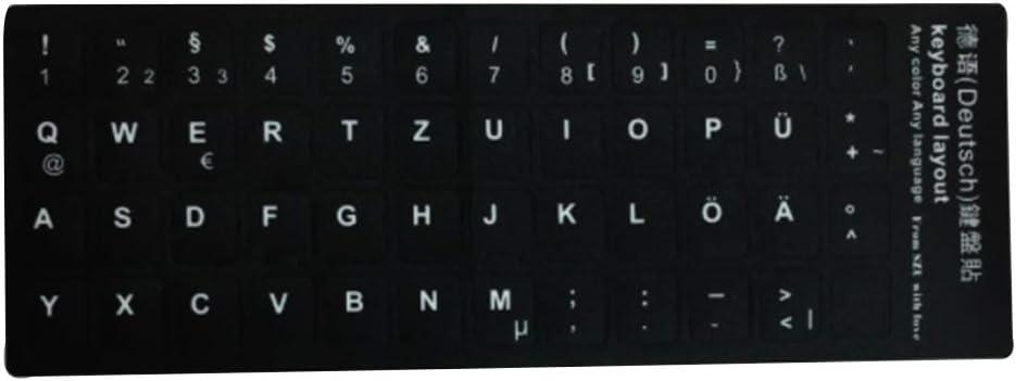 RRunzfon I Teclas Pegatinas con tastieraper PC Teclado No ...