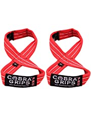 Deadlift Straps Figure 8 Lifting Straps The #1 Choice for Power Lifters weightlifters Workout Enthusiasts