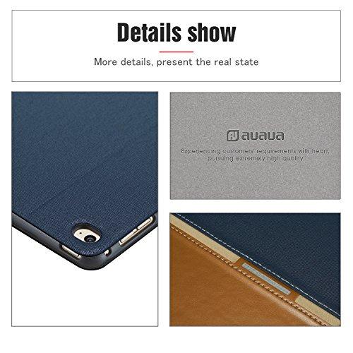 AUAUA iPad Mini 4 Case, iPad Mini 4 PU Leather Case with Smart Cover Auto Sleep/Wake +Screen Protector For Apple iPad Mini 4, 7.9 inch Apple Tablet (Mini 4, Brown) Photo #4