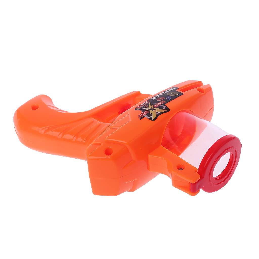 Jiamins Klassische Kinder Flying Saucer Guns 15 Eva Soft Kugeln Outdoor Party Kinder Spielzeug