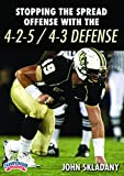 Stopping the Spread Offense with the 4-2-5 / 4-3 Defense
