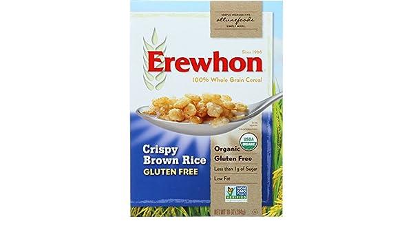 Amazon.com: Erewhon Cereal - Organic - Crispy Brown Rice ...
