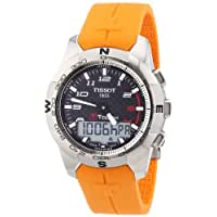 Tissot Men's T0474204720701 T-Touch II Black Digital Multi Function Watch