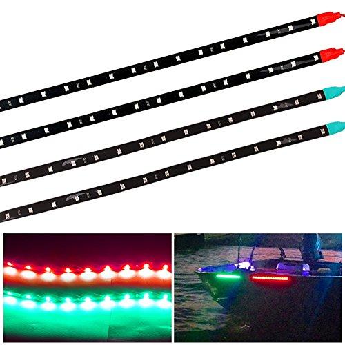 oEdRo 2 Red amp 2 Green 12 quot 30CM Flexible LED Strip Light