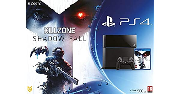 Console PS4 500 Go Noire + Killzone: Shadow Fall [Importación ...