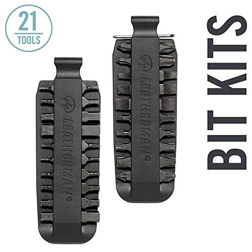 Leatherman Surge Accessories - Leatherman - Bit Kit, 21 Double-Ended Bits