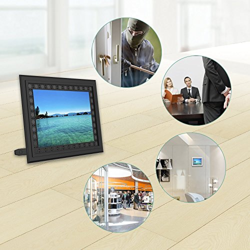 Hidden Spy Camera Photo Frame,Portocam Picture Frame Nanny Cam with Night Vision PIR Motion Activated Video Recorder Covert DVR with 2 Year Long Standby time by PORTOCAM (Image #4)