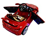 2016 Mercedes CLA 45 12-volt MP3 Electric Battery Powered Ride On Kids Boys Girls Toy Car RC Parental Remote LED Lights Music Leather seat -Red
