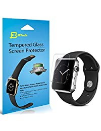 Apple Watch Screen Protector, JETech 2-Pack 42mm Premium Tempered Glass Screen Protector for Apple Watch (42mm) - 0870