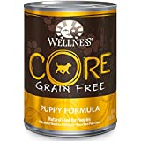 Wellness Core® Natural Wet Canned Grain Free Puppy Food, Turkey, Chicken & Herring, 12.5-Ounce Can (Pack of 12)