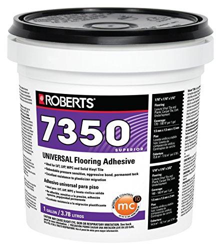 Roberts 7350-1 Universal Vinyl Flooring Adhesive, 1 Gallon (Best Quality Vinyl Flooring)