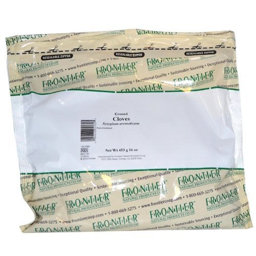 Frontier Bulk Cloves Powder, 1 lb. package - 2PC - 3PC