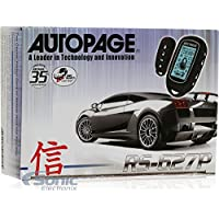 AutoPage RS-627P Remote Car Starter with Keyless Entry - Two-Way Communication and Paging