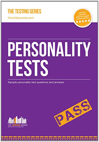 PERSONALITY TESTS: 100's of Questions, Analysis and Explanations to find your personality traits and suitable job roles (Testing Series)
