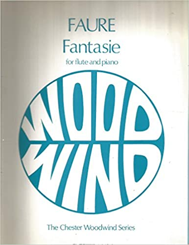 Fantasie for Flute and Piano  Editor: Trevor Wye  (The