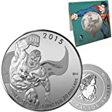 2015 CANADA $20 Superman (20 for 20 series) DC Comics TM Originals Fine 99.99% Silver Coin - AMAZING CHRISTMAS GIFT IDEA THAT INCREASES IN VALUE OVER TIME!