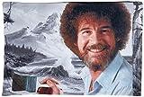 Buckle Down Paint Mountain Pillow Case, Standard, Bob Ross